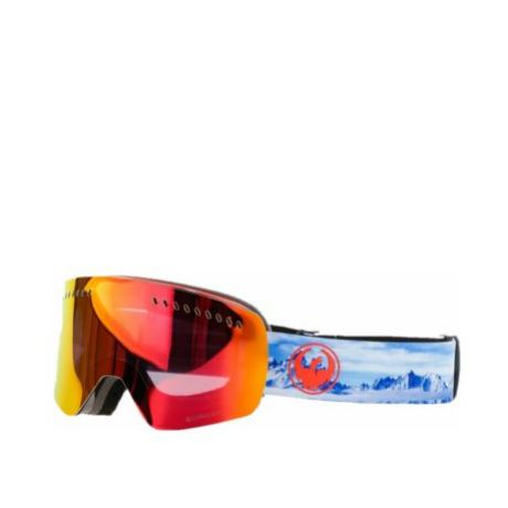 Маска Dragon Goggles NFXs (realm/lumalens red ion)