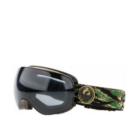 Маска Dragon Goggles X2s (hunter dark smoke/l flash blue l rose)
