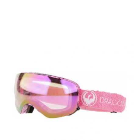 Маска Dragon Goggles X2s (mill/lumalens pink ion/dark smoke)