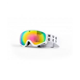 Маска NUGGET PERSISTENCE GOGGLES A - WHITE/PINK CHROME