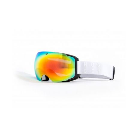 Маска NUGGET DISCHARGE 2 GOGGLES A - WHITE/RED CHROME