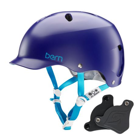 Шлем Bern Lenox H2O Wep satin midnight blue