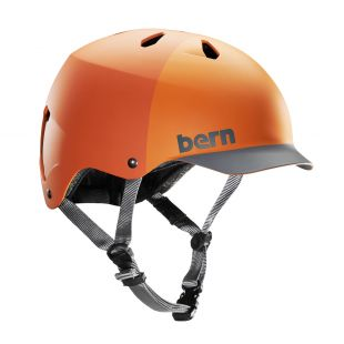 Шолом Bern Watts H2O matte orange hatstyle