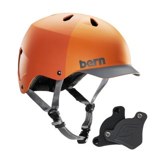 Шолом Bern Watts H2O WEP matte orange hatstyle