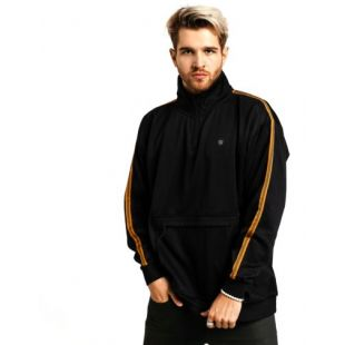 Толстовка Brixton B Shield III 1/2 Zip (black)