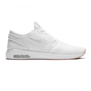 Кеды Nike SB Air Max Janoski 2 white/white-gum yellow
