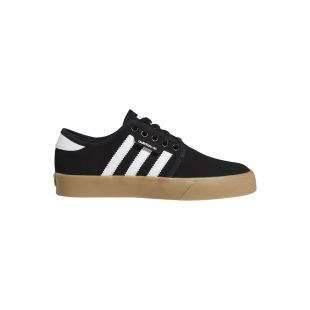 Кеды Adidas Seeley (core black/ftwr white/gum4)