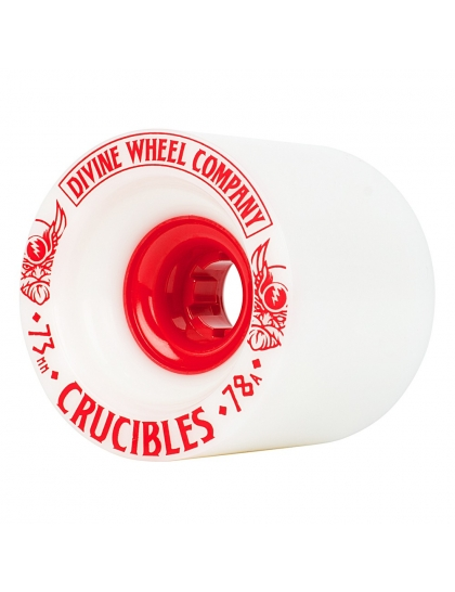 Колеса Divine Crucibles 73Mm/78A white/red