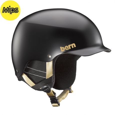 Шлем Bern Muse Mips satin black