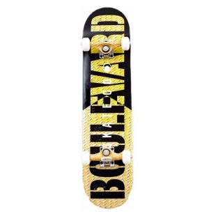 Скейтборд Boulevard Skate Co (yellow/black)