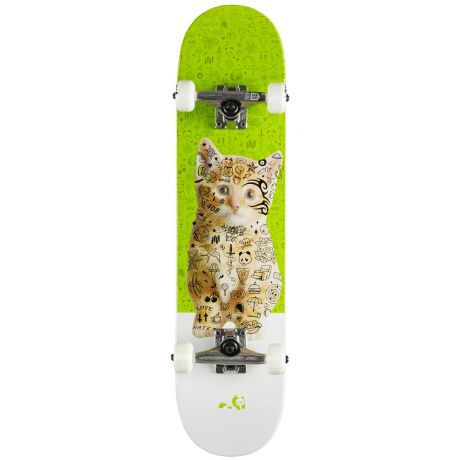 Скейтборд Enjoi Kitten (green)