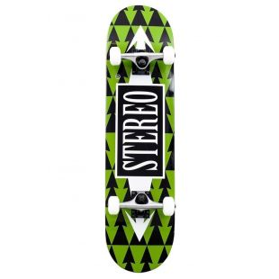 Скейтборд Stereo Arrow Pattern (green/black)