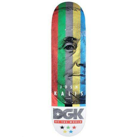 DGK Deck Vs The World Kalis (multi)
