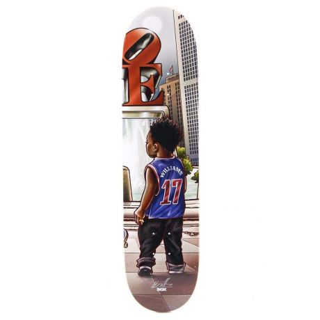 DGK Deck Williams Lil Dgk (multi)