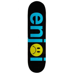 Enjoi Deck Frowny Face (black)