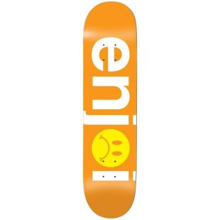 Enjoi Deck Frowny Face (orange)