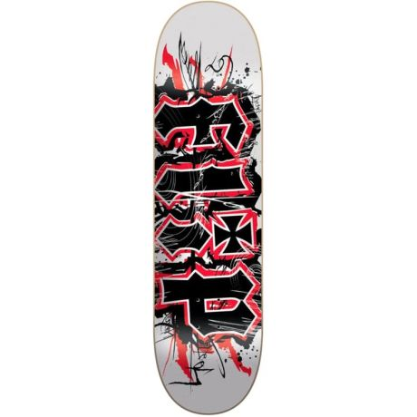 Flip Deck HKD Team Scratch (white/black/red)