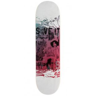 Real Deck Brock X Dads Save It (white/multi)