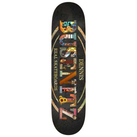 Real Deck Busenitz C And P Oval (black)