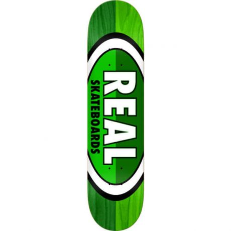 Real Deck Brd 50 50 Oval (green/green)