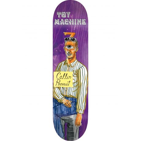 Toy Machine Deck Provost Picture Day (purple)