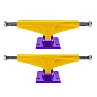 Venture Trucks Staples Lo (yellow/purple)