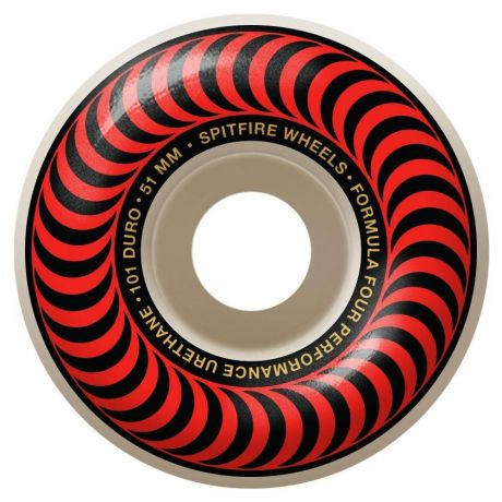 Spitfire Wheels F4 101 Classic (red)
