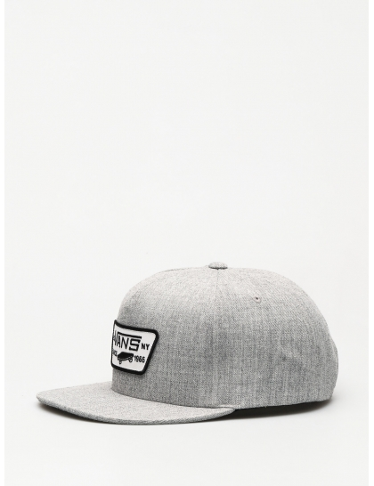 Кепка Vans Full Patch Snapback ZD (heather grey)