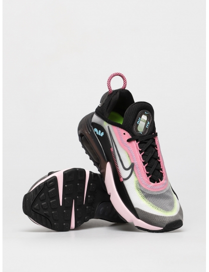 Кеды Nike Air Max 2090 Wmn (white/black pink foam lotus pink)