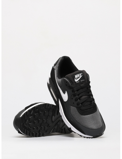Кеды Nike Air Max 90 (iron grey/white dk smoke grey black)