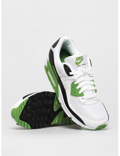 Кеды Nike Air Max 90 (white/white chlorophyll black)