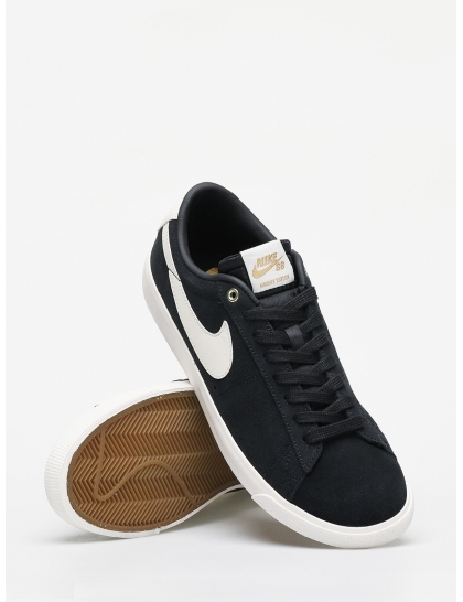 Кеды Nike SB Blazer Low Gt (black/sail)