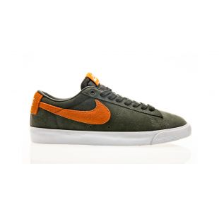 Кеди Nike SB Blazer Low Gt (sequoia/kumquat white gum light brown)