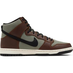 Кеди Nike SB Dunk High Pro (baroque brown/black jade horizon)