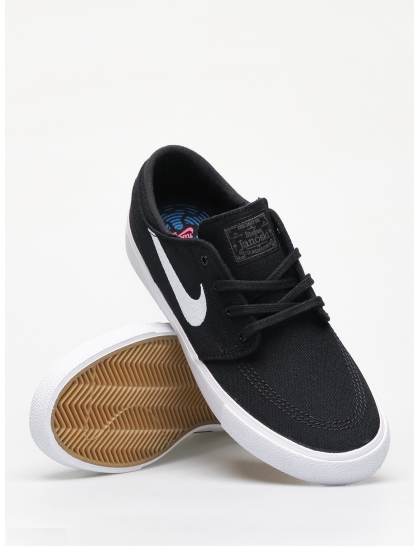 Кеды Nike SB Zoom Janoski Cnvs Rm (black/white thunder grey gum light brown)