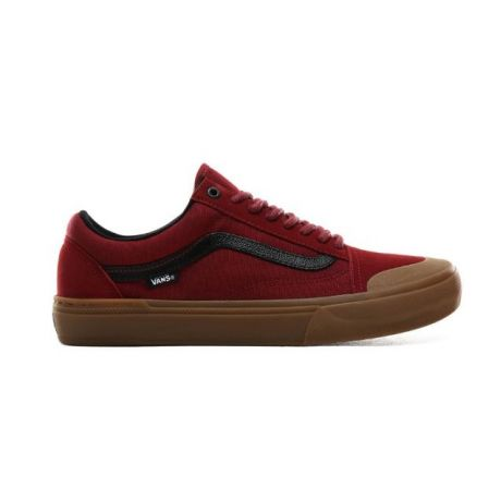 Кеды Vans Old Skool Pro Bmx (ty morrow/biking red/gum)