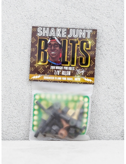 Shake Junt Bolts Zion Wright Pro Allen (black/brown/gold)