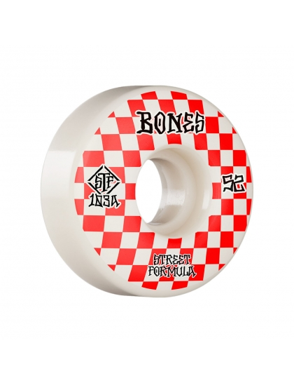 Bones Wheels STF Patterns V3 white 2020