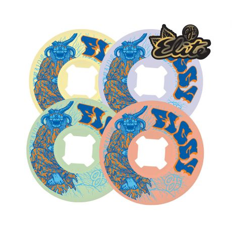 Bones Wheels Oj Figgy Lightning Elite Mix Up Uni white