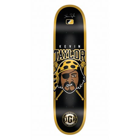DGK Deck Kevin Taylor Pittsburgh Pirate (black)