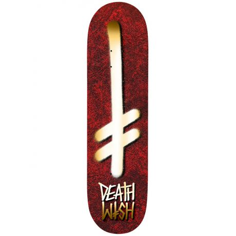 Deathwish Deck Gang Logo Holy (red/gold)