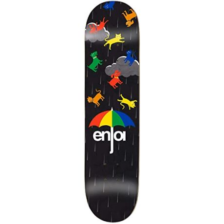 Enjoi Deck Raining Cats And Dogs (black)