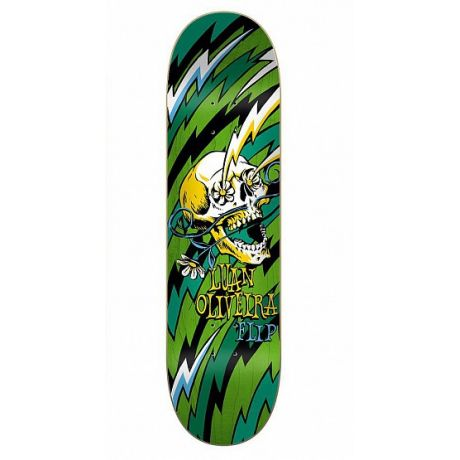 Flip Deck Oliveira Blast (yellow/green)