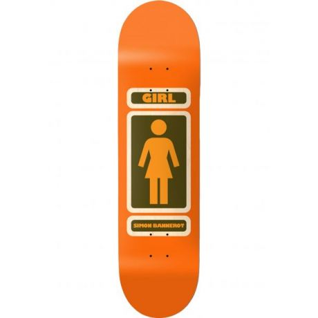 Girl Skateboard Deck Bannerot 93 Till Infinity (orange)