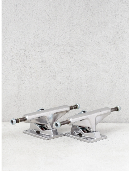 Venture Trucks All Polished Lo (silver/w red)