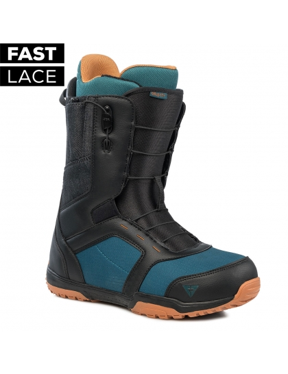 Gravity Fast Lace black/blue/rust