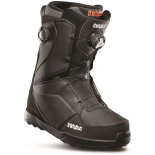 Mens ThirtyTwo Lashed Double Boa Snowboard boots (black)