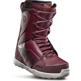 Mens ThirtyTwo Lashed Snowboard boots (maroon/black/white)
