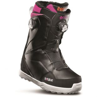 Womens ThirtyTwo Lashed Double Boa B4Bc Snowboard boots (black/pink)