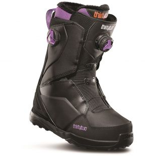 Womens ThirtyTwo Lashed Double Boa Snowboard boots (black/purple)